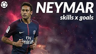 Neymar Jr ● Crazy Skills x Goals ● 2017-18 ● 4K