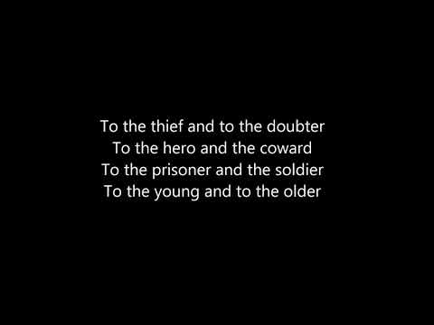 Sidewalk Prophets - Come To The Table [with Lyrics]