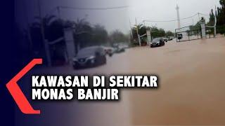 Gambar cover Kawasan di Sekitar Monas Tergenang Banjir