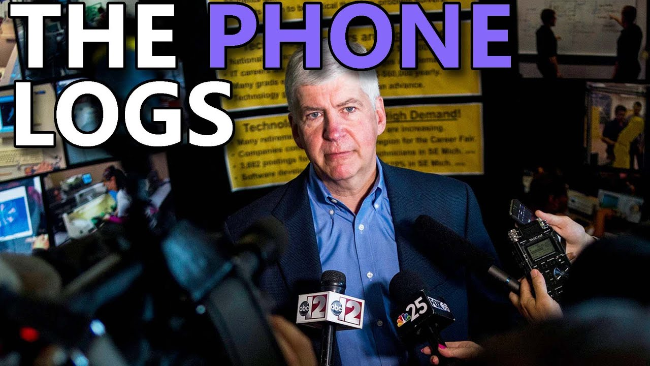 BOMBSHELL: Rick Snyder & Top Officials Had AVALANCHE of Calls While Legionella Raised Alarm Bells