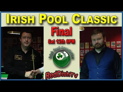 Robert Brady v Patrick O'Leary - Irish Pool Classic, Mens Final along with Over 50s side Final