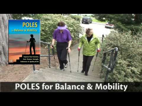 POLES For Balance & Mobility & Walking