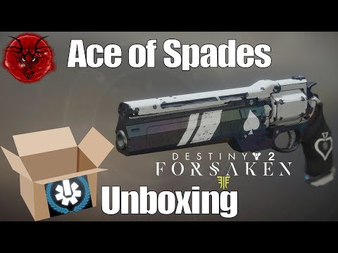 Ace of Spades Unboxing - Destiny 2 Exotic Quest Reward - YouTube