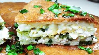 Быстрый Куриный пирог на кефире. Заливной Пирог с курицей и зеленым луком.
