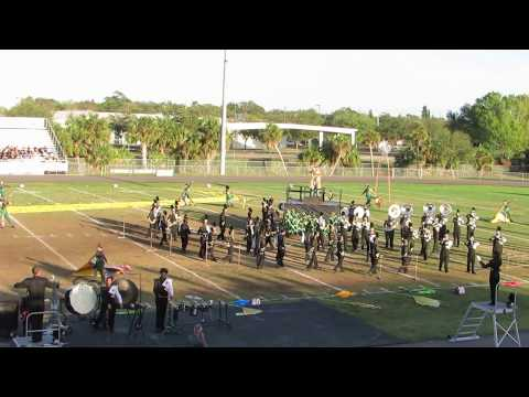 East Ridge HS Marching Knights @ 2017 Tarpon Springs Outdoor Music Festival