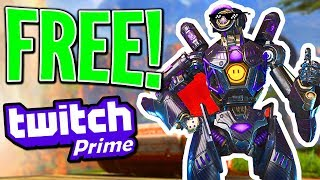 How to get the Apex Legends Twitch Prime loot for FREE!