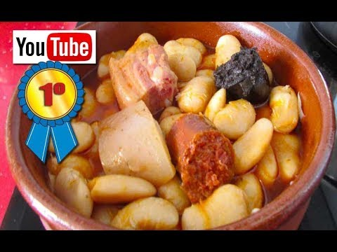 Fabada Asturiana Casera Receta Tradicional