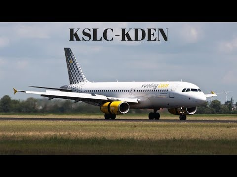 X-Plane 11] IVAO Flight KSLC-KDEN   Boeing 738   FlightSim Planet