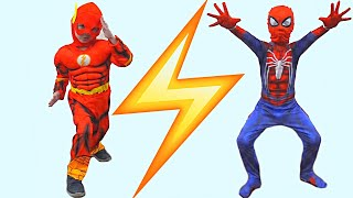 Flash Spiderman and Invisibility