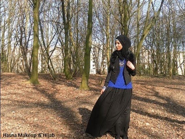 OOTD hijab maxi skirt