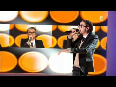 Christophe Willem - Medley Berlin & Double Je remix @ Champs Elysées 15.01.11