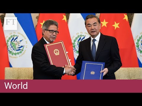 El Salvador chooses China over Taiwan