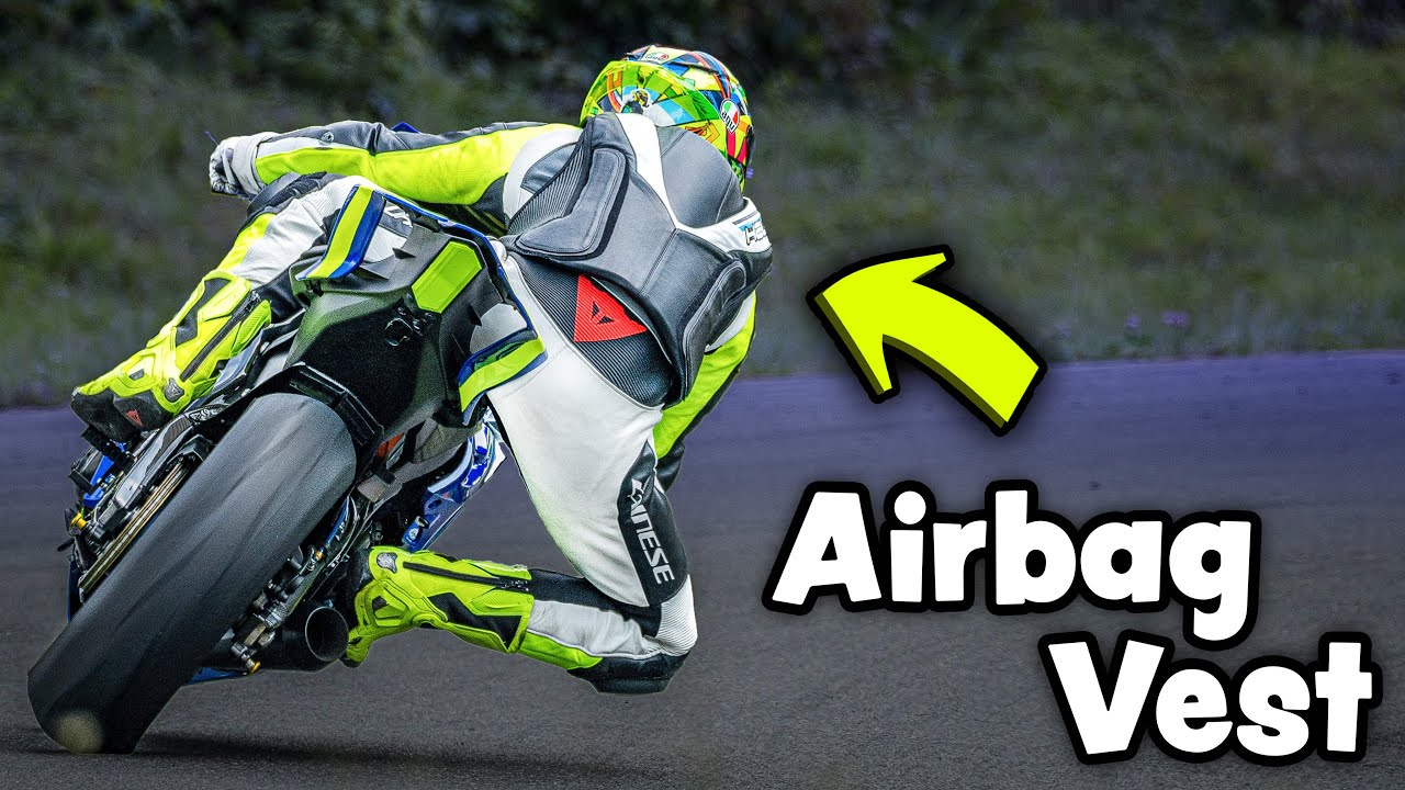 You NEED This... It might SAVE your LIFE! (Helite GP Air Track Vest)