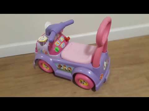 A Close-up Look Of  The Fisher-Price Little People Music Parade Ride On