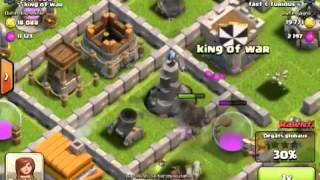 Clash of clans bon village hdv 5