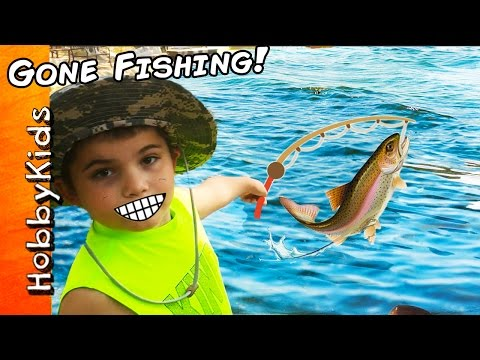 HobKids Go Fishing and Catch Real Fish!