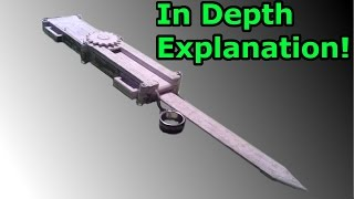 In Depth Explanation For The Assassin's Creed Paper Full Size Dual-Action Hidden Blade