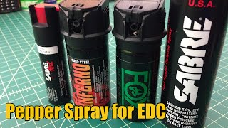 Best Pepper Spray - EDC Options - TheSmokinApe