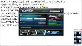 Repeat youtube video HACKER DE BOOST NO NFSW