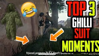 Ghillie Suit Insane Moments : They Cant See Me || PUBG Funny Moments