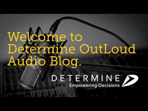Determine OutLoud: 005 featuring Greg Tennyson, Chief Procurement Officer of VSP Global