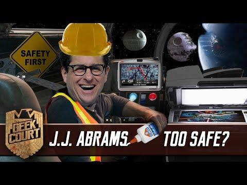 J.J. Abrams Too Safe? - Geek Court LIVE
