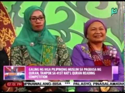 Galing ng mga Pilipinong Muslim sa pagbasa ng Quran, tampok sa 41st Nat