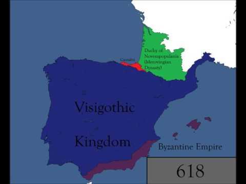 History of Iberia (409-720)