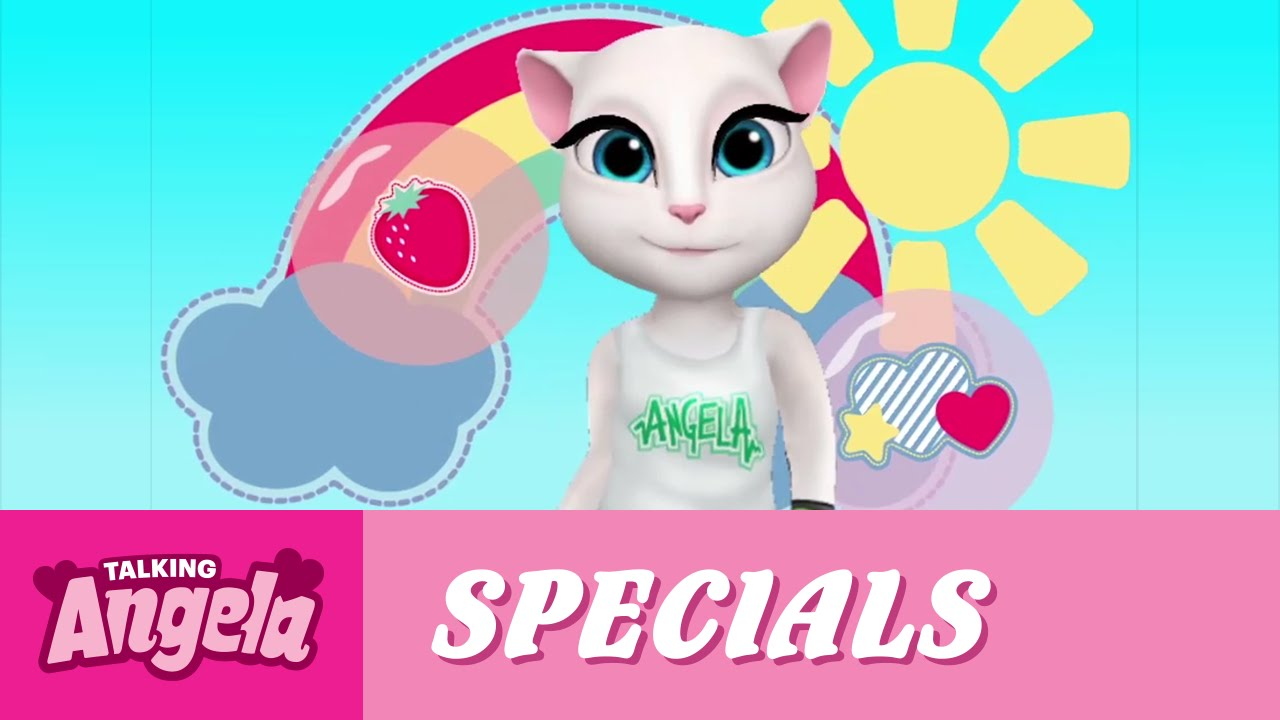 615063f757d82 Talking Angela - Welcome to My World! - YouTube
