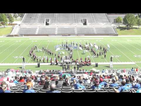 Goose Creek Memorial High School Band 2015 - Galena Park ISD Marching Festival