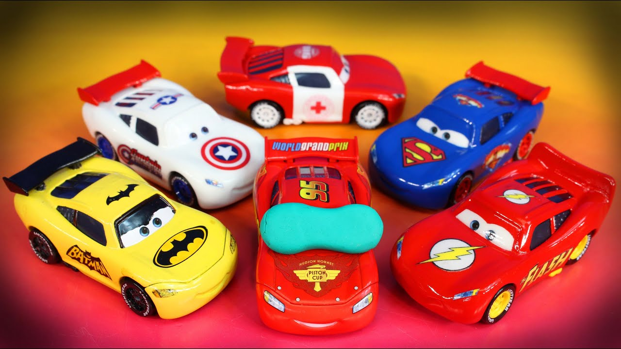 disney pixar cars lightning mcqueen dream 2 mater imaginext batman