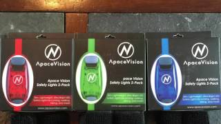 Apace Vision Safety light 2 pack.