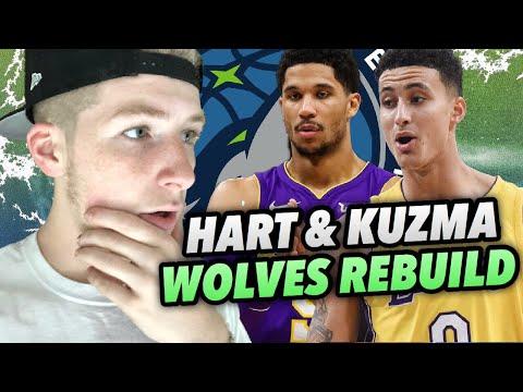 KYLE KUZMA & JOSH HART TIMBERWOLVES REBUILD! NBA 2K18 MY LEAGUE!