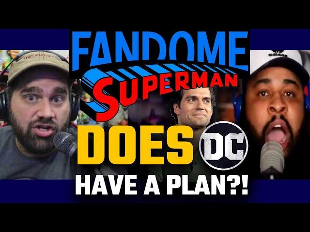 Fandome, Superman... Does DC Have A Plan?! - Nerd Wars: Andy Signore vs Jody's Corner