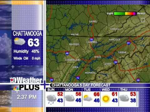 Wbir Weather Plus November 2009 Youtube