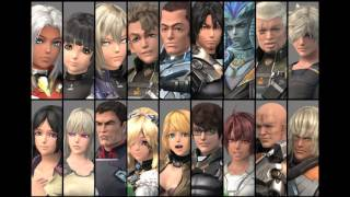 Xenoblade Chronicles X - All Party Member Arts Voice (English)