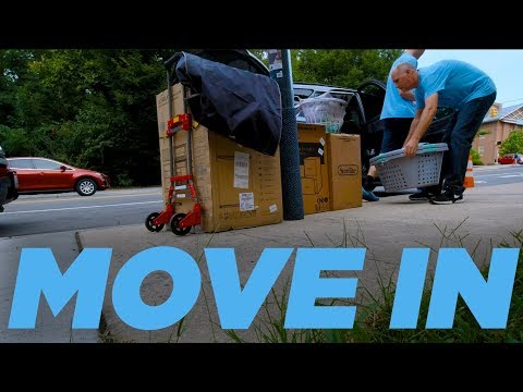 UNC College Move-In Day