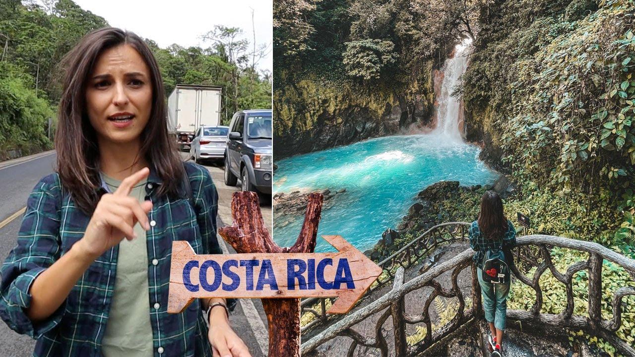 Asa ceva vezi DOAR in COSTA RICA | Rio Celeste