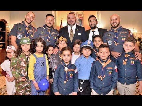 """جلالة الملك محمد السادس يهنئ """" مجموعة فناير"""" أمام رؤساء العالم.."""