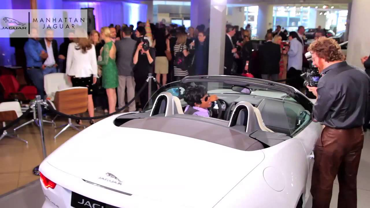 Captivating All New 2014 Jaguar F Type Launch With Kelly Rutherford Of Gossip Girl At Manhattan  Jaguar NYC