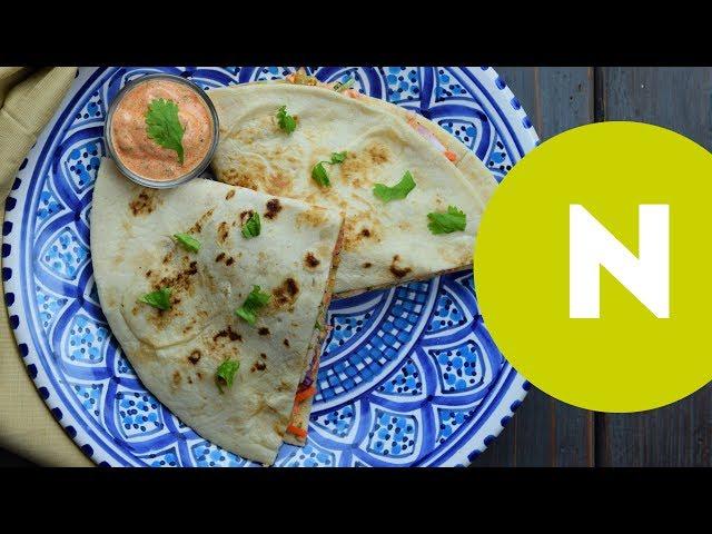 Csirkemelles tortilla | Nosalty