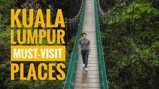 How to Travel Kuala Lumpur MALAYSIA   One Day City Guide