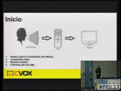 CVOX   Controle remoto para TV com comando por voz para pessoas com deficiência