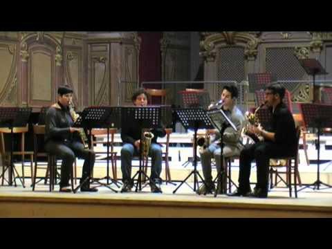 Roberto Masi sax – saggio musica d'insieme 2012 Conservatorio Rossini