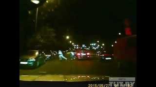 Погоня ГАИ за пьяными подросткам на BMW в Минске