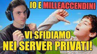🔴IO E MILLEACCENDINI LEGO VI SFIDIAMO NEI SERVER PRIVATI!! codice creatore: mr_maxrandom