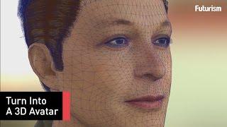 Create an Expressive 3D Avatar Using Only a Selfie