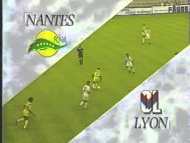 Nantes / Lyon - 1994/1995