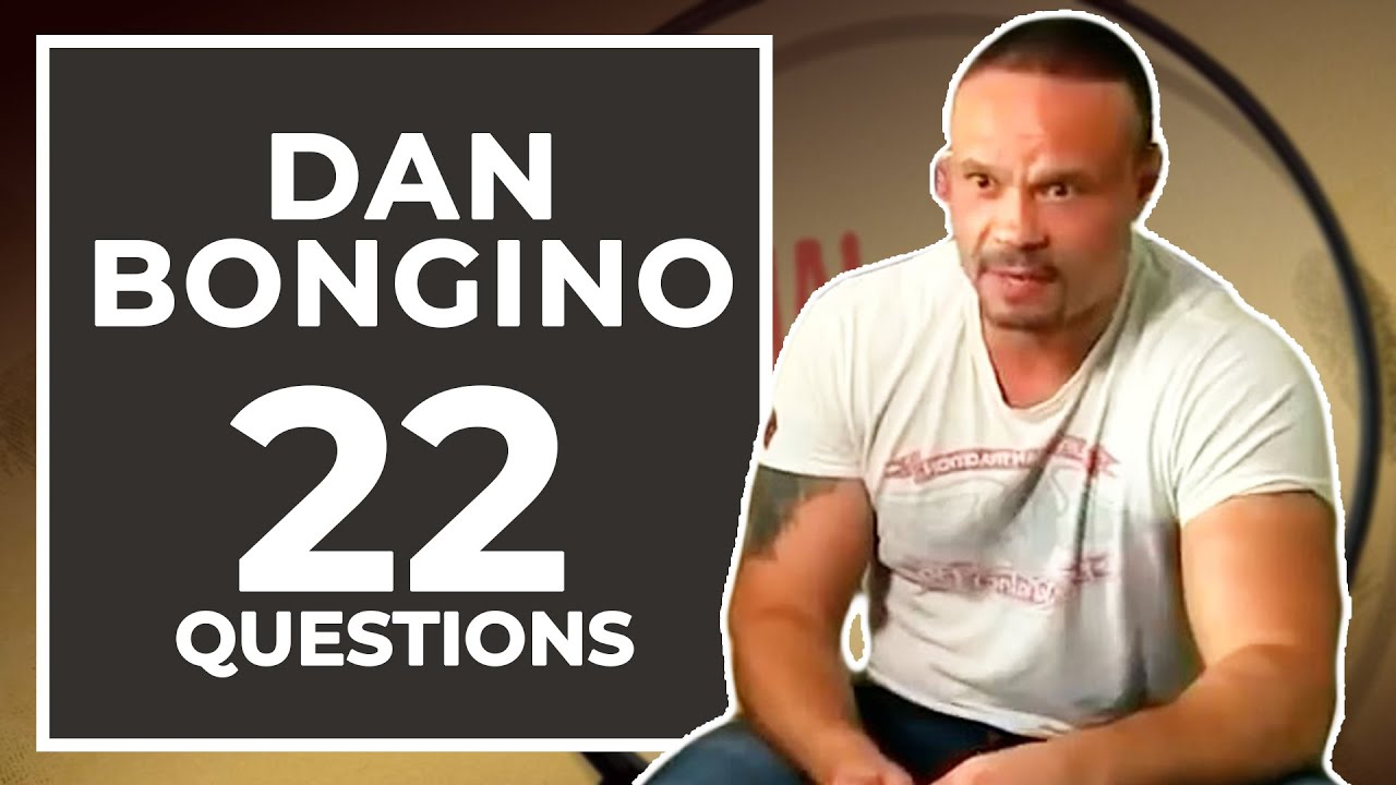 Dan Bongino Answers 22 Questions about Himself