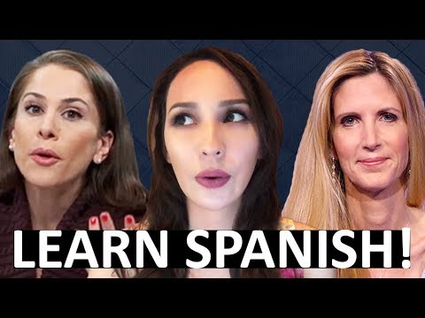 Ana Kasparian & Ann Coulter PolitiCon Debate | JUST LEARN SPANISH!